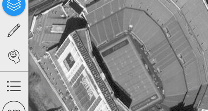 SA Digital Globe Super Bowl Shot of Broncos Field
