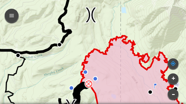 Intterra Field Tool - Rice Ridge Fire